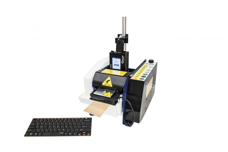 Papierplakband dispenser LCM 100